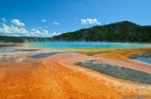 Grand Prismatic Spring im Yellowstone Nationalpark