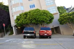 san francisco geparkte autos