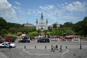 Jackson Square und St. Louis Cathedral