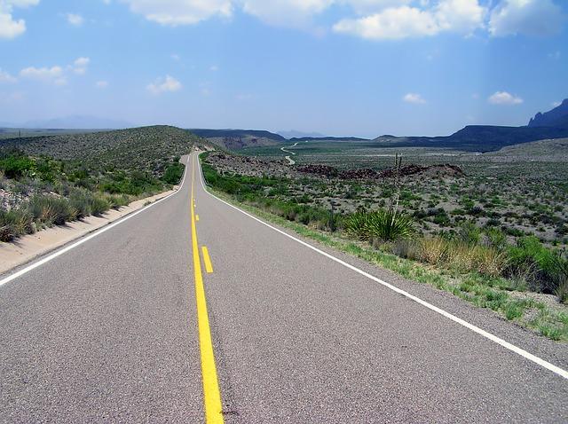 highway usa texas