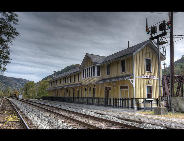 ghost town usa thurmond west virginia